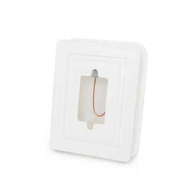 """Over Air Barrier"" Electrical Plug Mounting Block"
