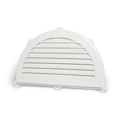 "Half Moon Gable Vent – 22""x34"""
